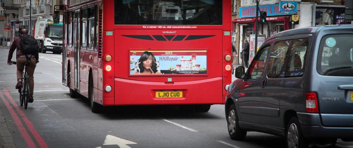 ORS London Bus Rear June D